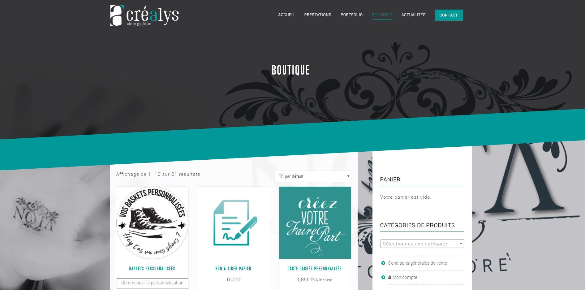 Boutique www.crealysdesign.com