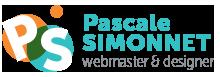 pascale-simonnet.fr - Logo PS - Pascale Simonnet webmaster & designer